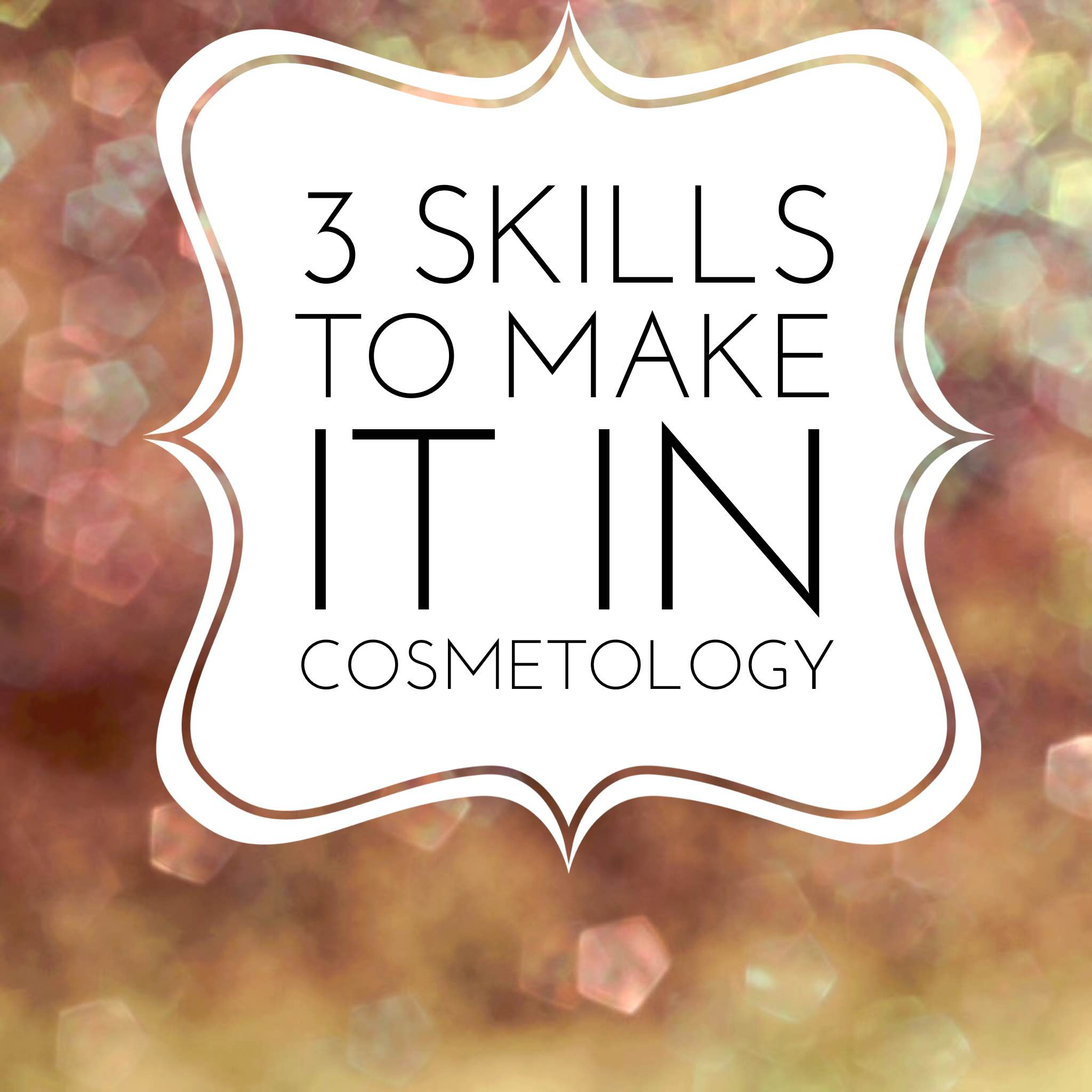 cosmetology skills