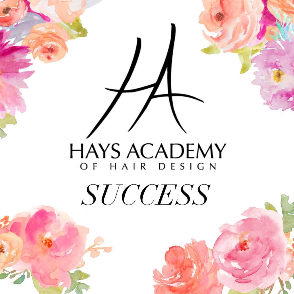 hays academy of hair design success