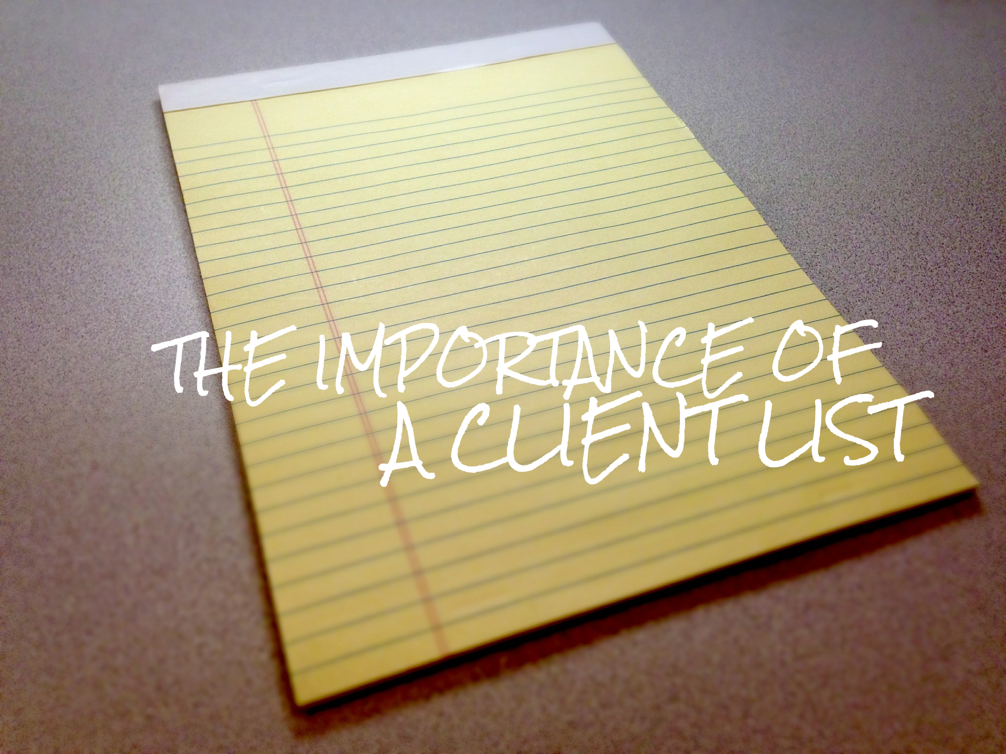 the importance of a client list in hair industry