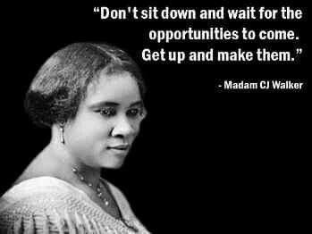 Madam CJ Walker quote
