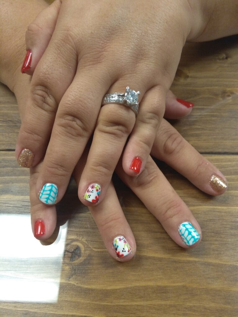 Nail Art Why Yes Please Hays Academy Of Hair Design